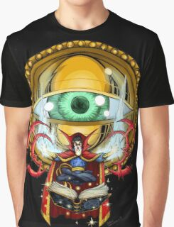 Doctor Strange in the Agamotto Eye Graphic T-Shirt