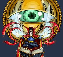 Doctor Strange in the Agamotto Eye by SirG