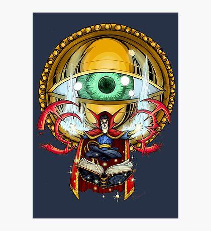 Doctor Strange in the Agamotto Eye Photographic Print