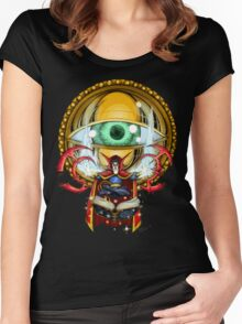 Doctor Strange in the Agamotto Eye Women's Fitted Scoop T-Shirt