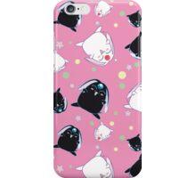 Mokona Black & White pattern iPhone Case/Skin