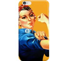 Rosie propaganda icon iPhone Case/Skin