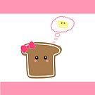 Kawaii Toast by sweettoothliz