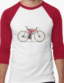 Love Bike, Love Britain Men's Baseball ¾ T-Shirt