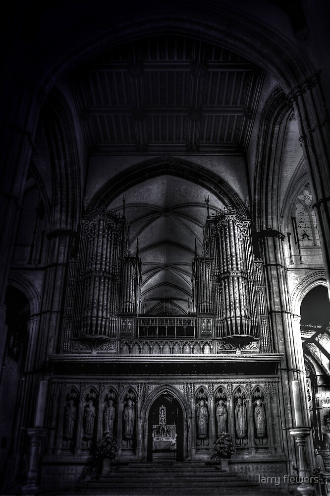 Rochester Cathedral Interior (3) HDR by larry flewers