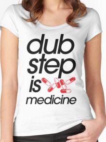 Dubstep Is Medicine (part II) Women's Fitted Scoop T-Shirt