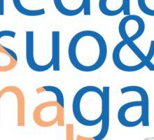 The Capsules Helvetica (Akira) Sticker