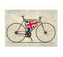 Love Bike, Love Britain Art Print