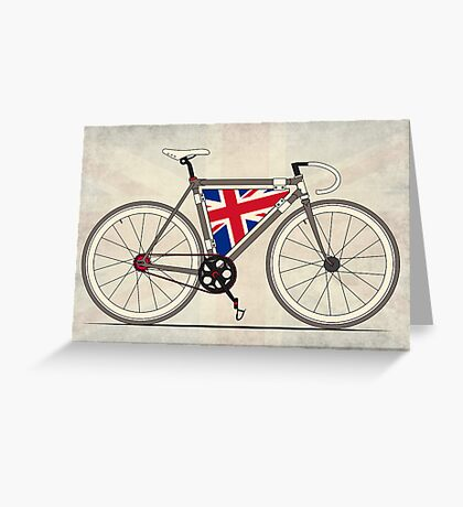 Love Bike, Love Britain Greeting Card