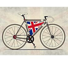 Love Bike, Love Britain Photographic Print