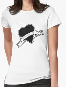 You Swiped Right Womens Fitted T-Shirt