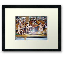 The School of Postmodernism Detail 5 by Vittorio Pelosi Framed Print