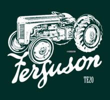 Classic Ferguson TE20 script and illustration by Robin Lund