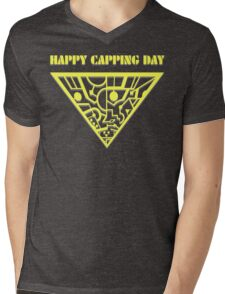 Happy Capping Day (The Tripods) Mens V-Neck T-Shirt