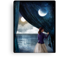 Night with a view Canvas Print