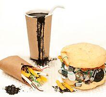 Junk Food by Revital  Naumovsky