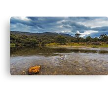Ripples in the River Canvas Print