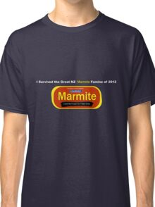 I Survived the Great NZ Marmite Famine of 2012  Classic T-Shirt