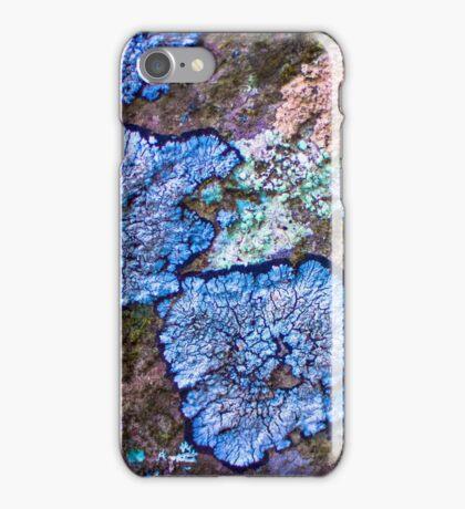 Colourful Splattered Moss iPhone Case/Skin