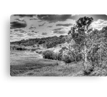 Landscape aStudy in Black & White - Oberon Way, NSW - The HDR Experience Canvas Print