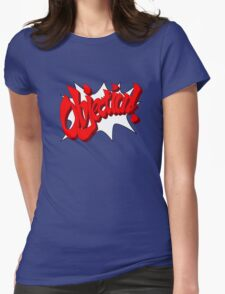 Objection! Womens Fitted T-Shirt