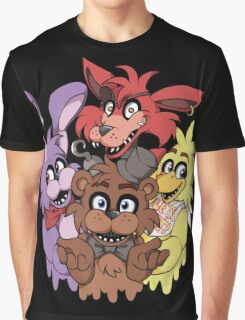 Five Nights at Freddys! Graphic T-Shirt
