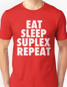 Eat Sleep Suplex Repeat T-Shirt