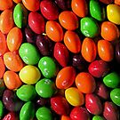 Skittles candy iPhone 4/4s case by Jnhamilt