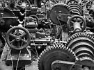 Engine Graveyard by Yampimon