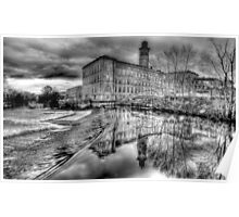Salts Mill Panorama Poster