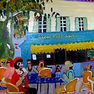 Le Grand Cafe Riche by Rusty  Gladdish