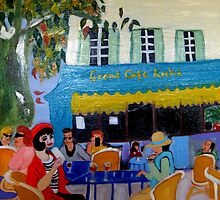Le Grand Cafe Riche by Rusty  Gladdish