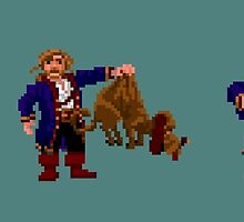 Guybrush and... Guybrush! (Monkey Island 2) by themasrix