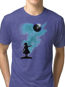 The Girl That Holds The World Tri-blend T-Shirt