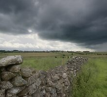 Dry Stone Wall by Nigel Bangert