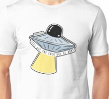 Lets Get Out Of Here UFO Unisex T-Shirt