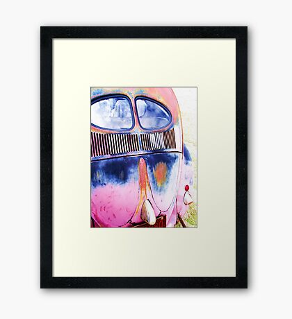OLD SPLIT Framed Print