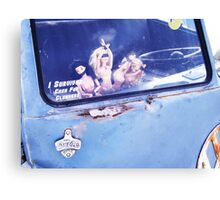 I survived Cash for Clunkers! Canvas Print