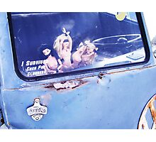 I survived Cash for Clunkers! Photographic Print