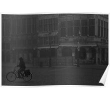 fog rider - Antwerp Poster