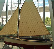 Boat in a Museum by kalaryder