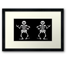 Bone Parents Dance (Monkey Island 2) Framed Print