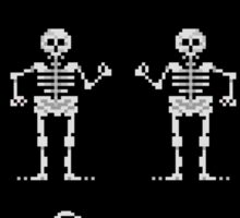 Bone Parents Dance (Monkey Island 2) Sticker