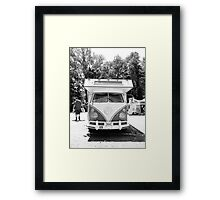 RVW hut Framed Print