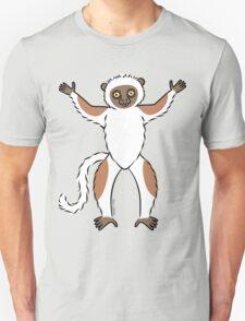 Sifaka Lemur Unisex T-Shirt