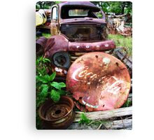 COLA FORD Canvas Print
