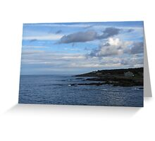View from the Marginal Way #1 Greeting Card