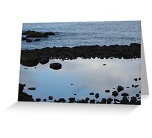 Wells, Maine Reflections Greeting Card