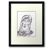 Portrait From Memory Framed Print