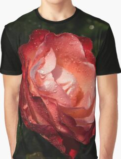 A Gift From My Mother's Garden - Chiaroscuro Rose Graphic T-Shirt